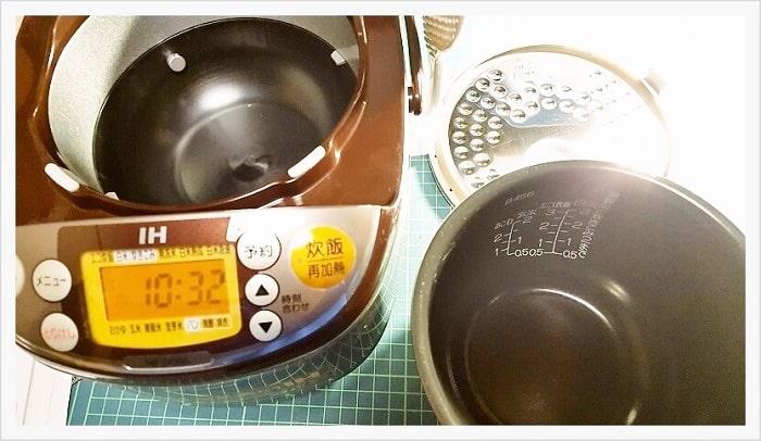 象印のIH式3合炊き炊飯器【 NP-GG05-XT】レビュー