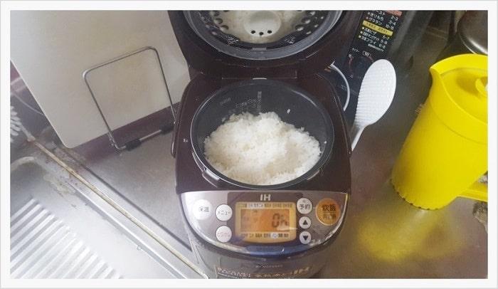 象印IH式3合炊き炊飯器で実際にご飯を炊いてみた