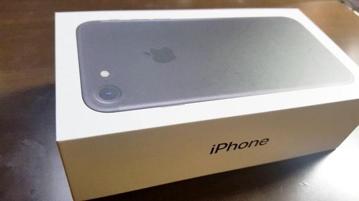 iPhone開封