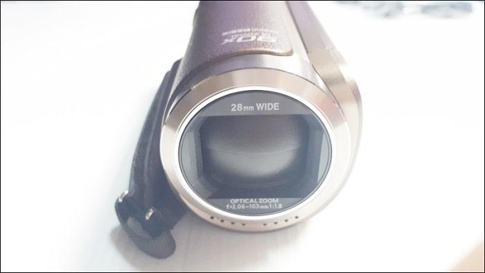 HC-W580M 望遠レンズを装着するネジが無い