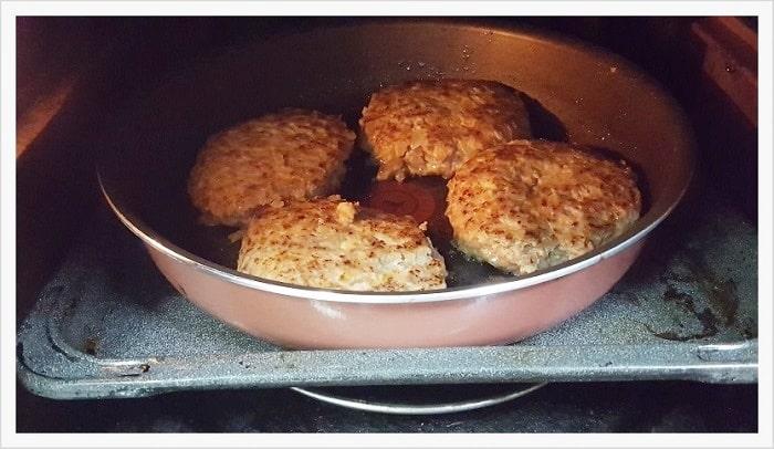 【インジニオ ネオ】を使いオーブンでハンバーグを焼いてみた