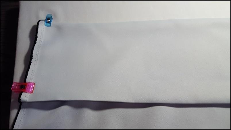 間仕切りカーテン(ヒダなし・フラット)の作り方
