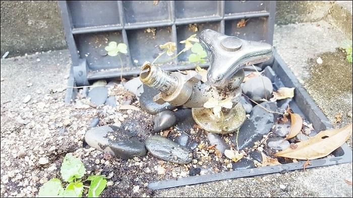 我が家の散水栓