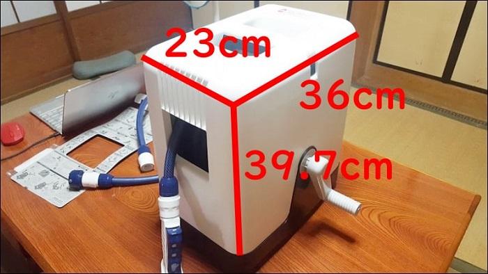 タカギ ホースリール【RC220TNB】の大きさや重さ