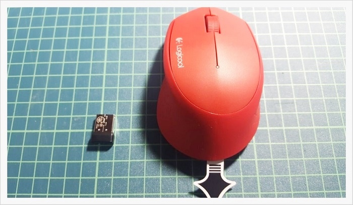 ロジクールワイヤレスマウスM280開封