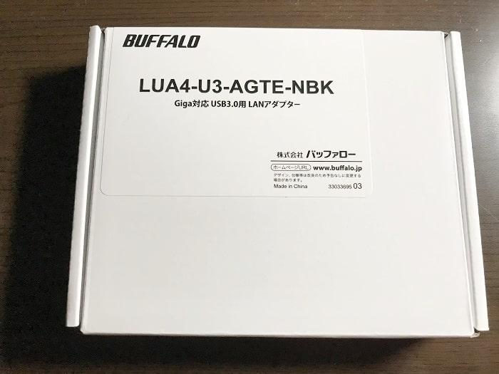 『LUA4-U3-AGTE-NBK』開封・設置