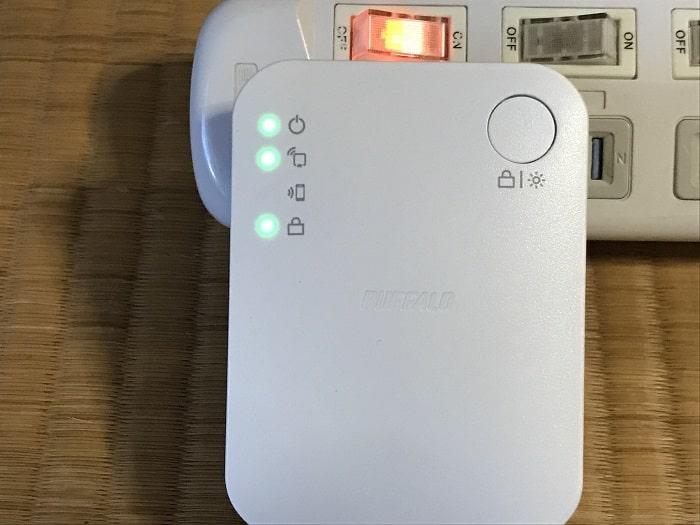 「WEX-733DHP/N」を親機に接続する