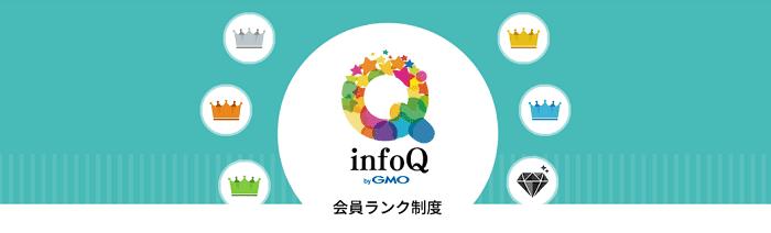 infoQの会員ランク