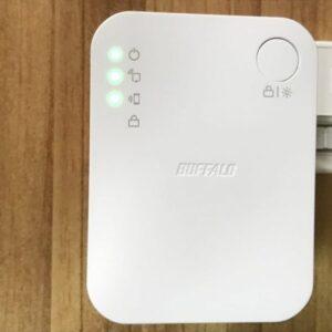Wi-Fi中継器バッファロー「WEX-733DHP/N」レビュー